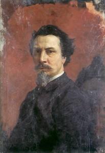 Nieukończony autoportret, po 1876 r. Muzeum Narodowe w Krakowie